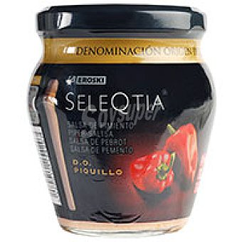 Eroski Seleqtia Salsa de pimiento de piquillo Tarro 212 g