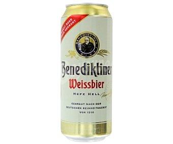 BENEDIKTINER Cerveza de trigo Lata de 50 centilitros
