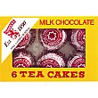 teacakes de chocolate con leche pack 6 unidades Tunnock's