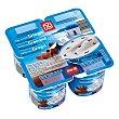 Yogur griego con straciatella Pack 4 unidades 125 g DIA