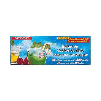 Primapack Bolsa para hacer cubitos hielo Paquete 20 u