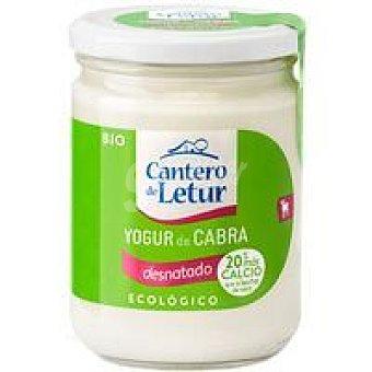 El Cantero de Letur Yogur ecológico de cabra 0% Frasco 420 g