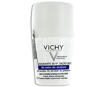 Vichy Desodorante sin sales de aluminio, sin alcohol y sin parabenos Bote 50 ml