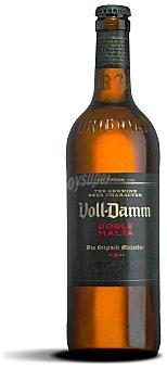 Voll-damm Cerveza Doble Malta Botella Cristal 66 cl