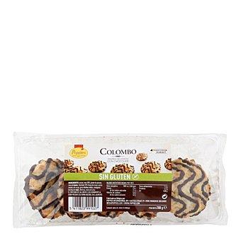 Popples Pastas de coco con chocolate Colombo - Sin Gluten 200 g