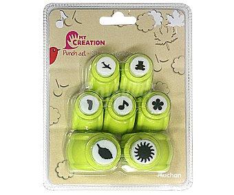 PRODUCTO ALCAMPO Set de mini perforadoras con figuras surtidas alcampo