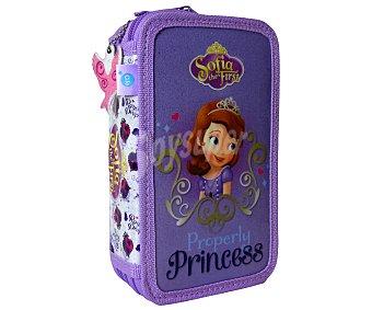 Disney Estuche de 3 pisos Princesa Sofía 1 Unidad