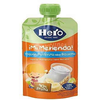 Hero Nanos Bolsita de yogur con bizcocho a partir de 12 meses 100 g