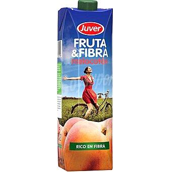 Juver Zumo de Melocotón fruta & fibra de 1L