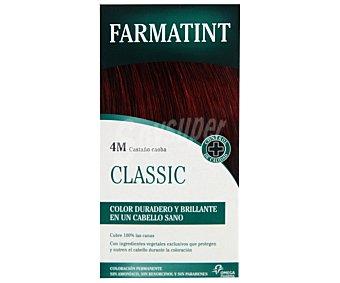 Farmatint Coloración en crema permanente 4-M castaño claro caoba 150 mililitros