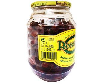 Roselló Aceituna negra marcida con Aceite 600 Gramos