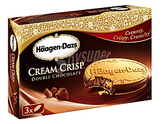 Häagen-Dazs Cream Crisp de chocolate Pack 3x66 ml