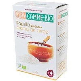 COMME-BIO Crema de arroz Paquete 230 g