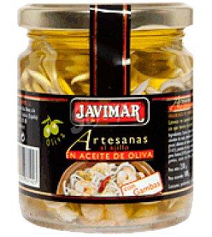 Javimar Artesanas al ajillo con gambas en aceite de oliva 100 g