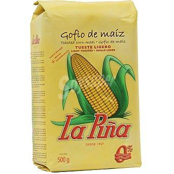 La Piña Gofio de maíz crudo bolsa 500 g Bolsa 500 g