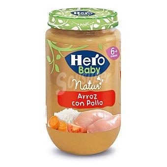 Hero Baby Tarrito de arroz con pollo Natur desde 6 meses  envase 235 g