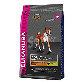 Eukanuba Pienso para perros medianos Adult Medium Pollo 12 Kg