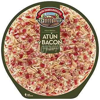 Casa Tarradellas Pizza atún y bacon Envase 405 gr