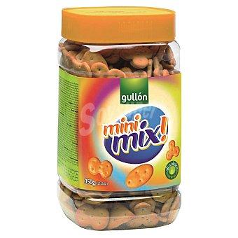 Gullón Galletas saladas mini mix Bote 350 g