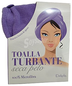 Deliplus Toalla turbante seca pelo color u
