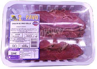 Procavi Pavo chuletas al ajillo fresco Bandeja 550 g peso aprox.