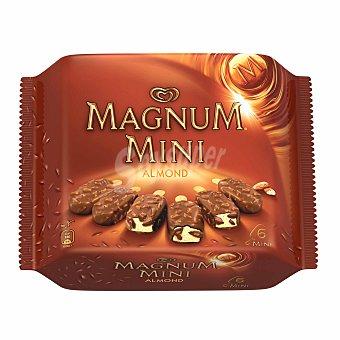 Magnum Frigo Mini helado almendras Caja 6 u x 60 ml (360 ml)