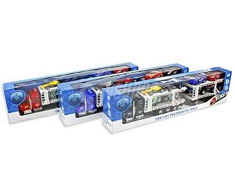 PRODUCTO ECONÓMICO ALCAMPO Camión de Fricción con Coches 1 Unidad