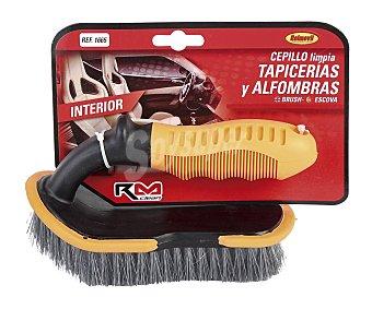 RM Cepillo con mango ergonómico antideslizante, especial para la limpieza de tapicerias y alfrombras clean clean