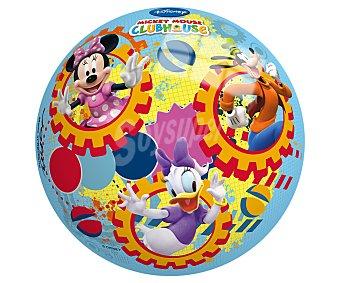 Disney Pelota de 23 centímetros decorada con los personajes de la serie La casa de Mickey Mouse 1 unidad