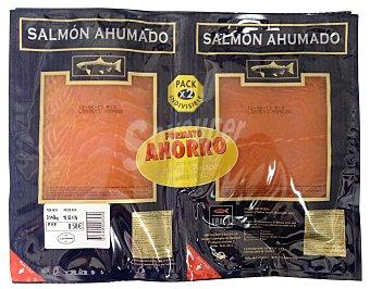 Ubago Salmon ahumado lonchas Pack 2 x 190 g - 380 g