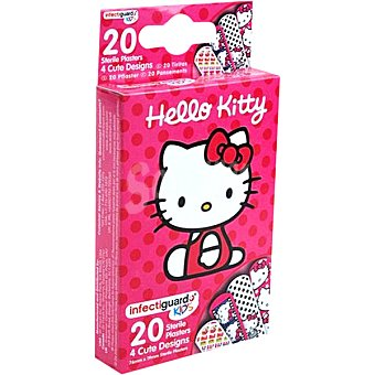 Hello Kitty Tiritas infantiles Caja 20 unidades