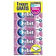 Chicle grageas sabor bubblemint Pack 5 x 10 unidades (50 grageas) Orbit