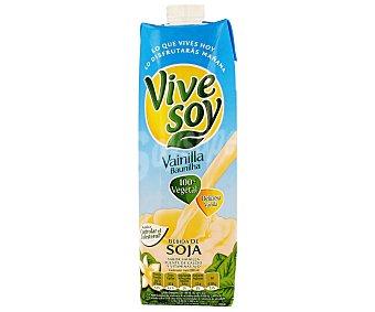 PASCUAL VIVE SOY Bebida de soja sabor vainilla 100% vegetal  envase 1 l