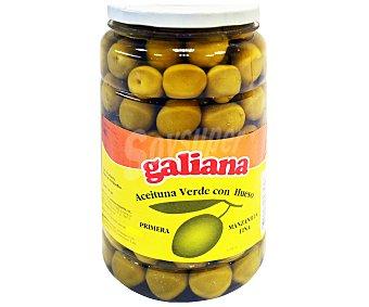 Galiana Aceituna verde, manzanilla fina, con hueso 900 g