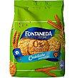 Cuídate galletas digestive mini con canela 0% azúcares añadidos Estuche 250 g Fontaneda