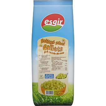 Esgir Cereal sabor galleta alto contenido en fibra sin sal sin gluten envase 300 g Envase 300 g