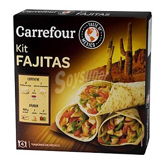 Carrefour Fajita Dinner Kit 525 g