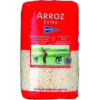 Hipercor Arroz redondo extra paquete 1 kg Paquete 1 kg