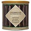 Cigarrillos de chocolate Lata 200 g Casa Eceiza