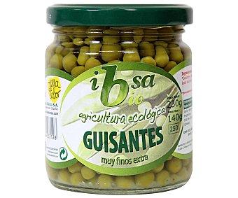 Ibsa Guisantes finos ecológicos calidad extra, 140 gramos