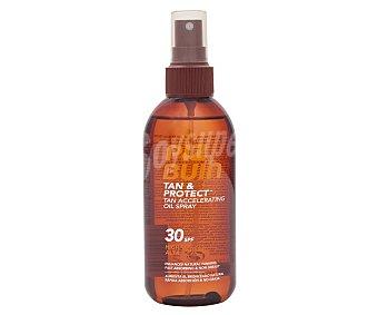 PIZ BUIN Tan & Protect Aceite solar en spray con acción protectora y aceleradora del bronceado y con FPS 30 (medio) 150 ml