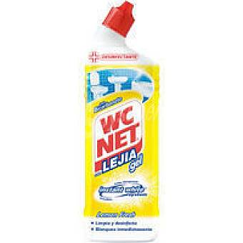 WC Net Lejía gel limón Botella 750 ml