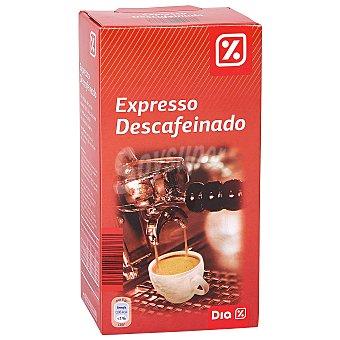 DIA Cafe express descafeinado Paquete 250 gr