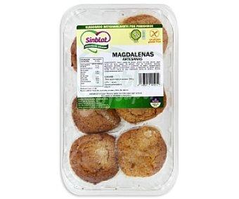 SINBLAT Magdalenas artesanas Sin Gluten 6 unidades (250 gramos)