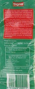 Signo Arroz Redondo Paquete 1 Kilo