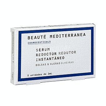 Beaute mediterranea Reductor instantaneo de bolsas y ojeras (ampollas) Caja 5 u