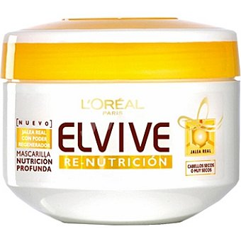 Elvive L'Oréal Paris Mascarilla Re-Nutrición Tarro 300 ml