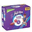 Pañales de aprendizaje niño 2-4 años (18-23 kg.) 25 ud 25 ud Huggies Pull-Ups