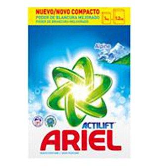 Ariel Detergente polvo alpes 40 DOS