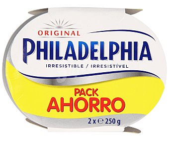 Philadelphia Queso de untar natural Pack 2 uds. x 250 g